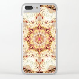 Mandalas from the Voice of Eternity 9 Clear iPhone Case