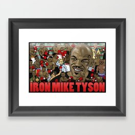 Mike Tyson Framed Art Print