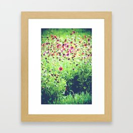 Wildly Colored WildFlowers Framed Art Print