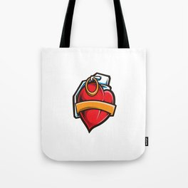 Lover Granade Vector Tote Bag