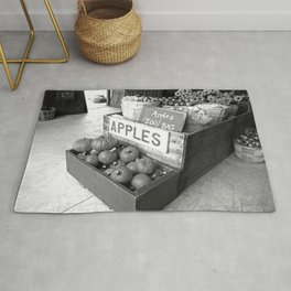 Apples for Sale Rug