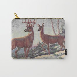 white tails | bucks & does | oh deer Carry-All Pouch