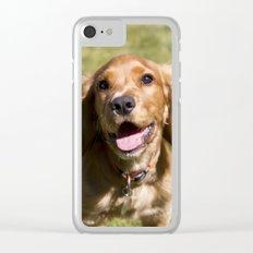 Casper the Cocker Spaniel Clear iPhone Case