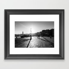 Dragged Into Sunlight Framed Art Print