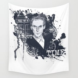 It's About Time Wall Tapestry
