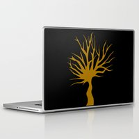 tree of life Laptop & iPad Skins featuring Life tree by Meldon_Mahtar