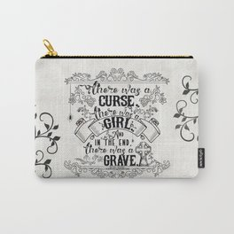Beautiful Creatures - Grave - White Carry-All Pouch