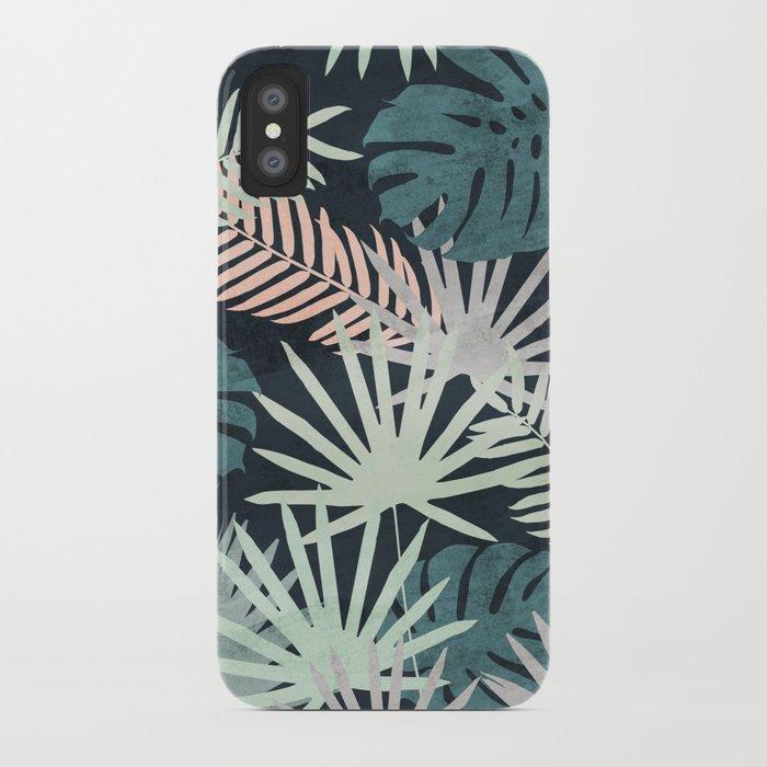 Tropicalia Night iPhone Case