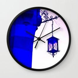 THE INTENSE BLUE LIGHT Wall Clock