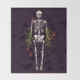 Dead is dead Throw Blanket