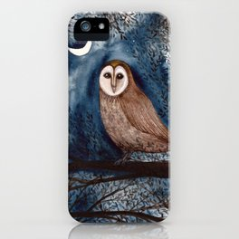 The Sentinel Owl iPhone Case