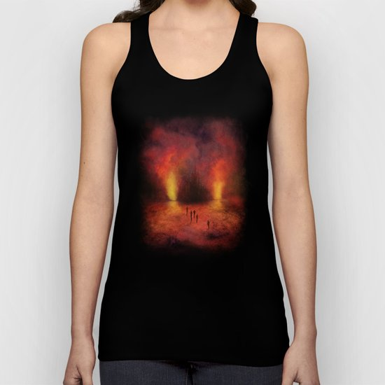 Leaving the past Unisex Tank Top