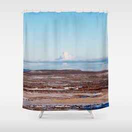 Islande photo Shower Curtain