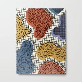 Colorful Notebook II Metal Print