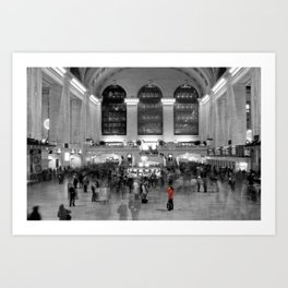 Grand Central Station - New York Photography Art Print