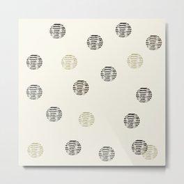 BASKET1 Metal Print