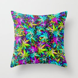 Kush Throw Pillow