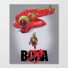 BobAkira (red) Canvas Print
