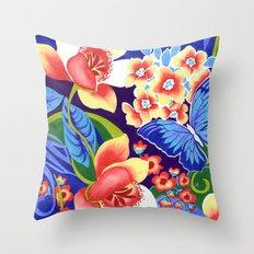 Whimsical Garden Throw Pillow