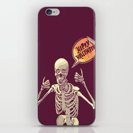 Halloween Thumbs Up! :) iPhone Skin