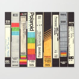VHS Detail I Canvas Print