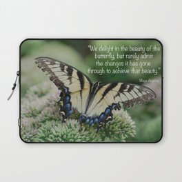 We delight in the beauty of the butterfly.... Laptop Sleeve