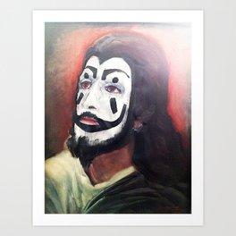 Juggalo Jesus Art Print