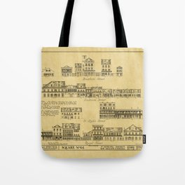 New Orleans Architecture Tote Bag