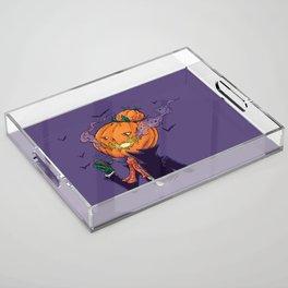 The Pumpkin Bun Acrylic Tray