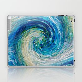 Wave to Van Gogh III re-make seamless texture Laptop & iPad Skin