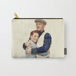 The Quiet Man - Watercolor Carry-All Pouch