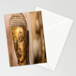 Wat Si Saket Buddhas IX, Vientiane, Laos Stationery Cards