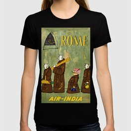 Rome Vintage Travel Poster T-shirt