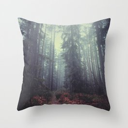The magic trails Throw Pillow