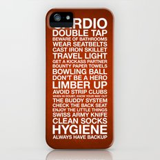 Zombieland —The Rules Slim Case iPhone (5, 5s)