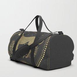 Wild Cheetah and the Moon Duffle Bag
