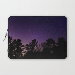 Stars view from the forest Laptop Sleeve