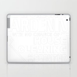 All I Want Is Weekend Forecast Gardening T Shirt Laptop & iPad Skin