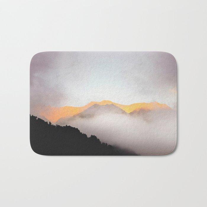 Hidden Treasure Mountain Bath Mat