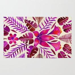 Tropical Symmetry – Magenta Rug