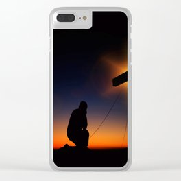 Humility Clear iPhone Case