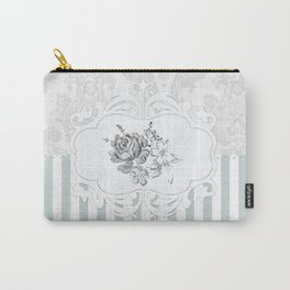 Cristine in Turquoise Carry-All Pouch