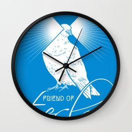 Friend of Tesla Wall Clock
