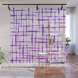 Acrylic colorful lines Wall Mural