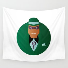 Riddle Me This Wall Tapestry