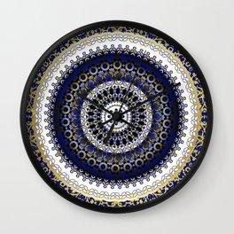 Royal Baroque Mandala Wall Clock