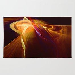 Molten Lava Flow Rug