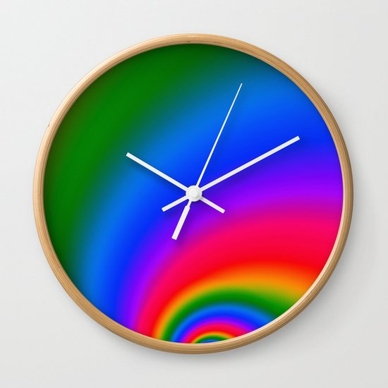 Magic Rainbow Wall Clock