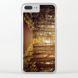 Into the Forst Clear iPhone Case