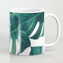 Monstera Leaves Pattern #3 #tropical #decor #art #society6 Coffee Mug